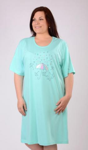 Dámská nadměrná noční košile Vienetta Secret Deštníky