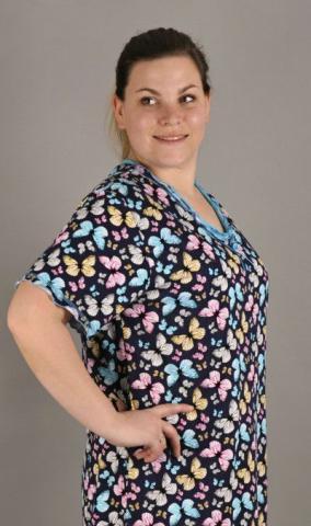 Dámská noční košile nadměr Vienetta Secret Magda