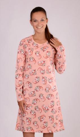 Dámská noční košile Vienetta Secret Méďa Ospalec