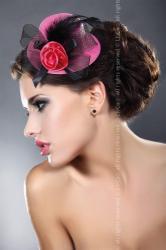 Dámská ozdoba Livia Corsetti Mini top Hat 15