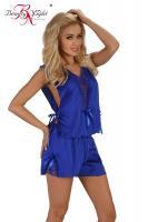 Dámská souprava Beauty night fashion Mellissa modrá