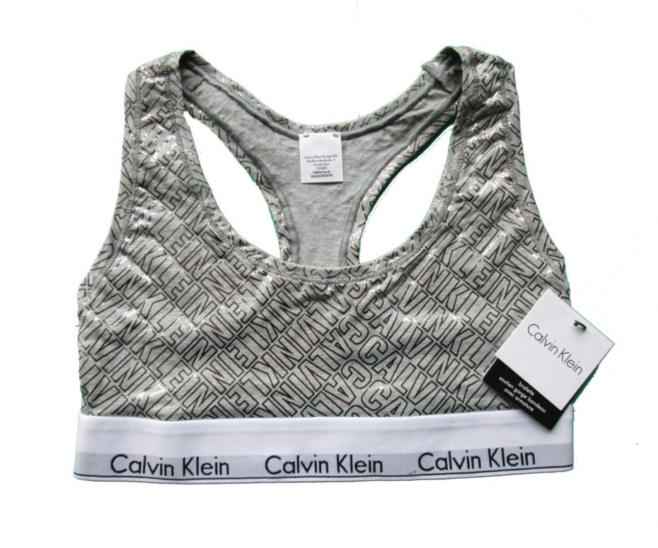 1f5338421 Dámská sportovní podprsenka Calvin Klein F3785E šedá - Calvin Klein ...