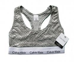 Dámská sportovní podprsenka Calvin Klein F3785E šedá