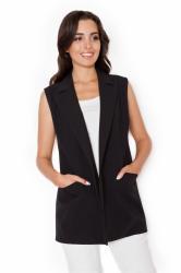 Dámská vesta Katrus K285 černá