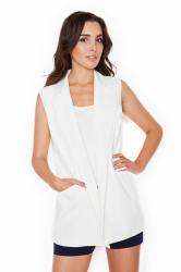 Dámská vesta Katrus K285 krémová