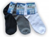 Dámské a pánské kotníkové ponožky Novia Míša - bambus