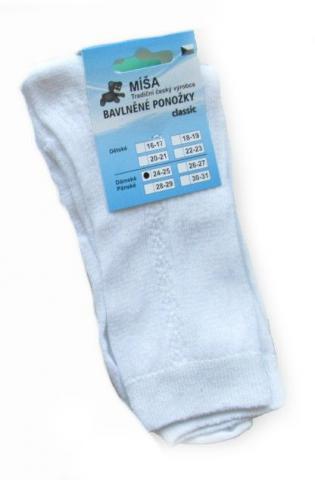 Dámské a pánské ponožky Novia Míša classic