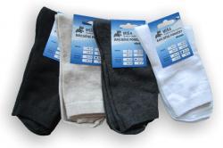 Dámské a pánské ponožky Novia Míša s elastanem