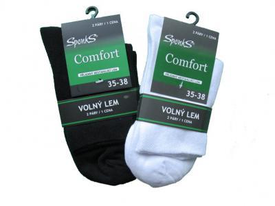 Dámské a pánské ponožky Sponks nižší - 2 páry