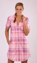 Dámské domácí šaty s krátkým rukávem Vienetta Secret Maruška