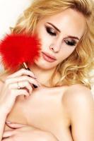 Dámské erotické peříčko 7-Heaven A0150 red