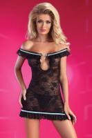 Dámské erotické šaty Livia Corsetti Mija černé