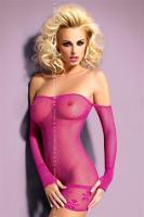 Dámské erotické šaty Obsessive D600 pink