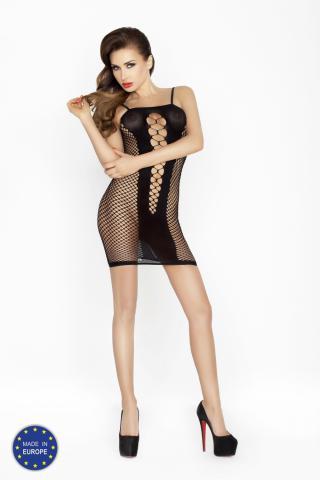 Dámské erotické šaty Passion BS027 černé