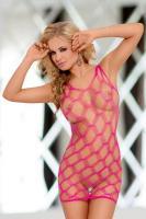 Dámské erotické šaty Softline collection Kitty neon