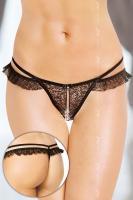 Dámské erotické tanga SoftLine collection 2452 černé