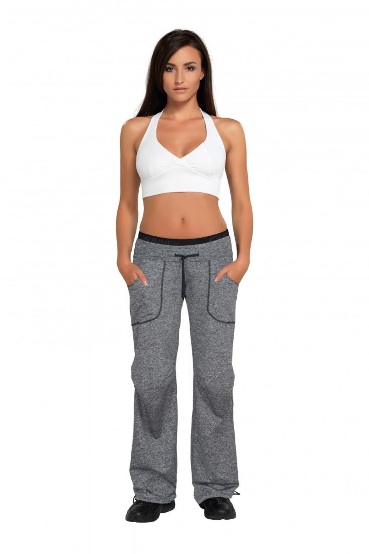 Dámské fitness kalhoty Winner Miranda melange - Winner (dámské ... 95250c3f85