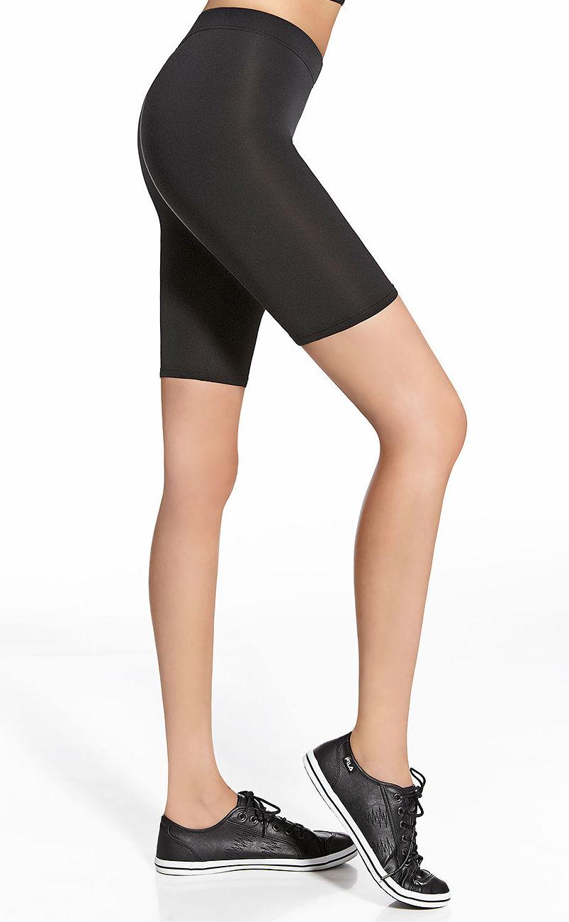 Dámské fitness šortky BasBleu Forcefit 50 černé - Bas Bleu (dámské ... a8c1364c8a
