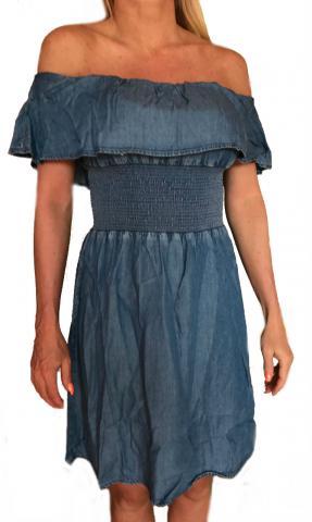 Dámské jeansové šaty Guess O82H02