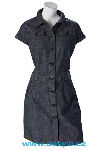 b11986a22f0e Dámské jeansové šaty O´Style 6237 - O STYLE (Akce a slevy)