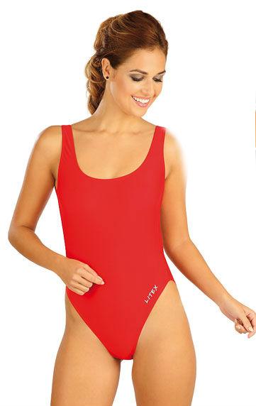 Dámské jednodílné plavky Litex 52515 červené - Litex (Jednodílné ... 344a1e426c