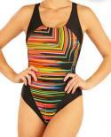 Dámské jednodílné sportovní plavky Litex 93473