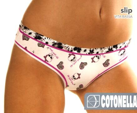 Dámské kalhotky Cotonella AD160 lebky - Cotonella (Klasické 38059a717b