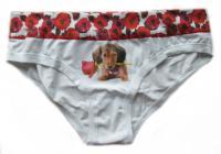 Dámské kalhotky Lovelygirl 2538D pejsek
