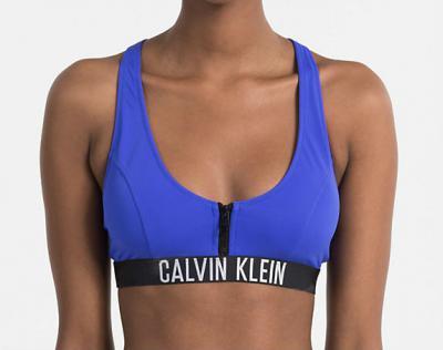 Dámské plavky Calvin Klein KW0KW00206 podprsenka černá