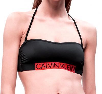 Dámské plavky Calvin Klein KW0KW00552 podprsenka černá