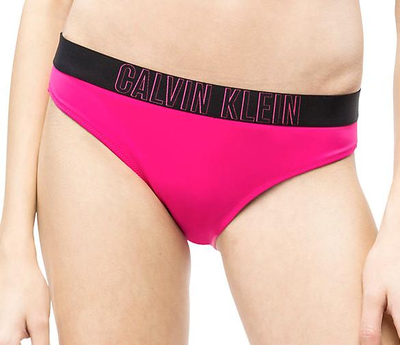 81232f7f1d Dámské plavky Calvin Klein KW0KW00610 kalhotky růžové - Calvin Klein ...