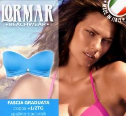 Dámské plavky Lormar FASCIA - korzetová podprsenka