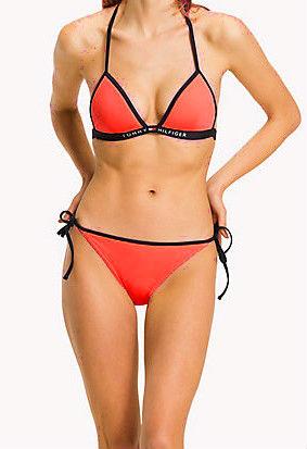 Dámské plavky Tommy Hilfiger UW0UW00625 červené - Tommy Hilfiger ... 90e5ad1a276