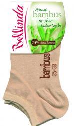 Dámské ponožky Bellinda 496807 BAMBUS IN-SHOE - VÝPRODEJ