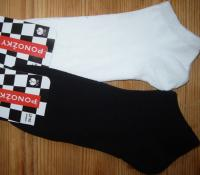 Dámské ponožky kotníkové Novia - jednobarevné A65