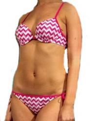 Dámské push-up plavky Calvin Klein 1013 + 1014