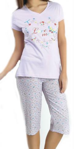 Dámské pyžamo capri CAPRICE 21116
