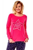 Dámské pyžamo Esotiq 36171 Moony 42x pink