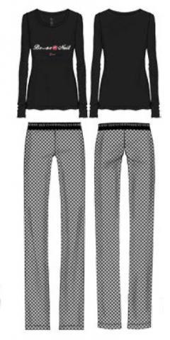 Dámské pyžamo Guess O74X03