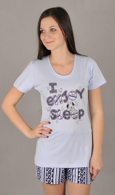 e2dba215170 Dámské pyžamo šortky Vienetta Secret Pes spáč - Vienetta Secret ...