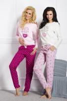 Dámské pyžamo TARO 1003 Sara dark pink