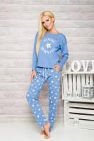 Dámské pyžamo Taro 1190 Nadia blue