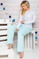 Dámské pyžamo Taro 2132 modré