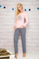 Dámské pyžamo Taro 259 Sylwia růžové