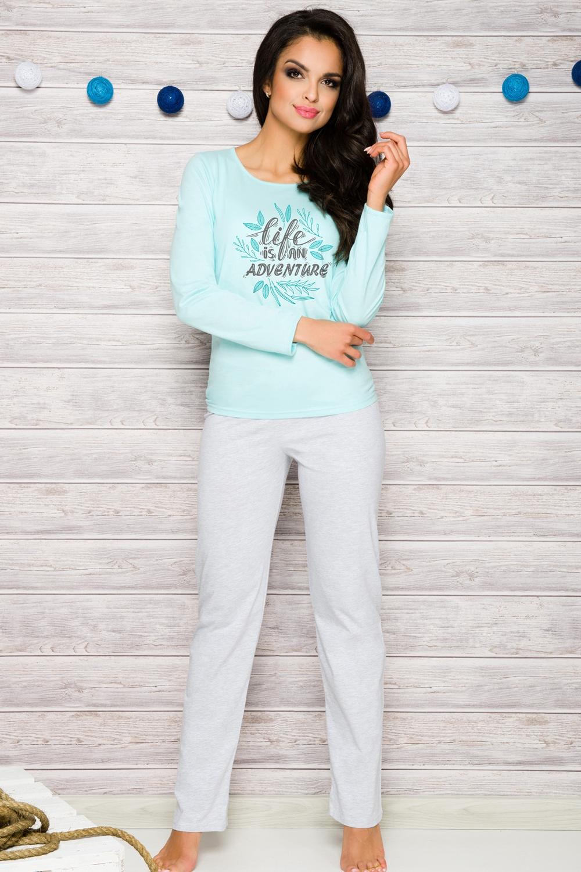 f60d412b680a Dámské pyžamo Taro 286 modré - TARO (Dámské pyžama - Pyžama