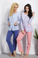 Dámské pyžamo TARO 963 Wera pink