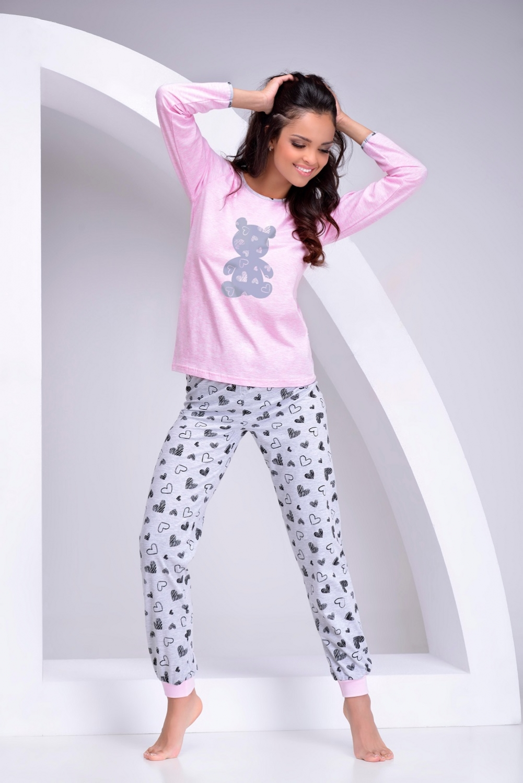 bb0ab316b74f Dámské pyžamo TARO Reni 980-02 - TARO (Dámské pyžama - Pyžama