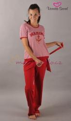 Dámské pyžamo Vienetta Secret Marine výprodej