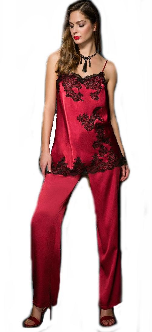 356009fde415 Dámské saténové pyžamo Coemi 181833 - Coemi (Dámské pyžama - Pyžama ...