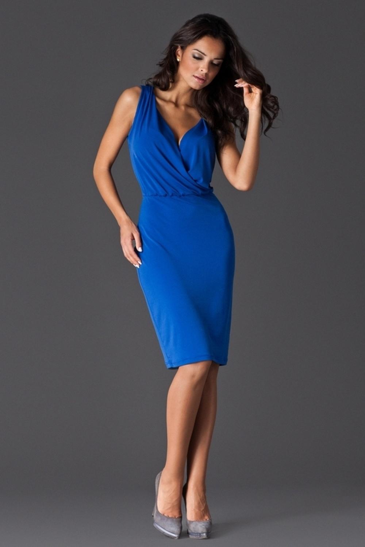 860de93b8949 Dámské šaty FIGL M135 modré - FIGL (Šaty